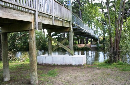Swingbridge Strengthening - Otaihanga